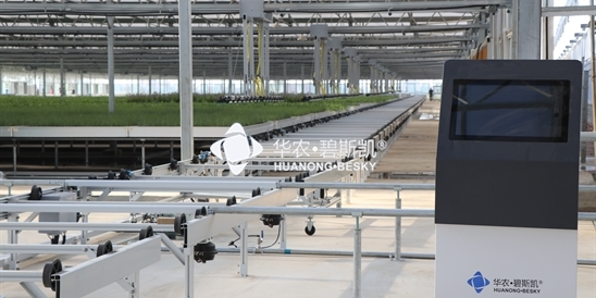 Greenhouse intelligent logistics and cultivation s